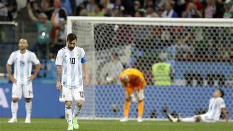 argentina croacia mundial 2018 resultado y goles