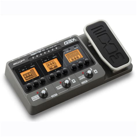 Multi Efek Zoom G3x disc zoom g3x guitarra multi efeito pedal e usb interface
