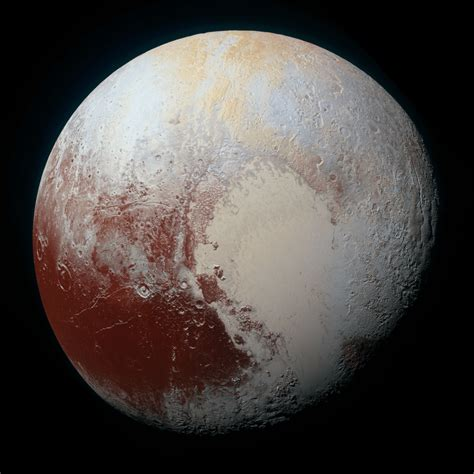 what color is earth what is the color of pluto universe today