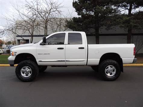 2005 dodge ram 2500 lifted 2005 dodge ram 2500 laramie 4wd 5 9l h o cummins diesel 6