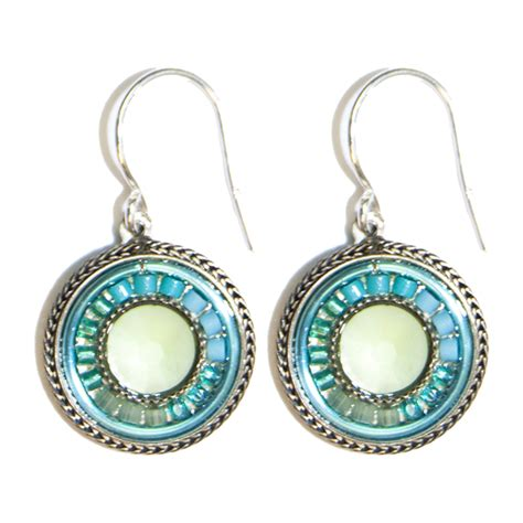 light blue la dolce vita earrings 6634 firefly jewelry