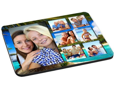 Photo Collage Mouse Mat by 7 Photo Collage Mouse Mat Pad 220mm X 180mm