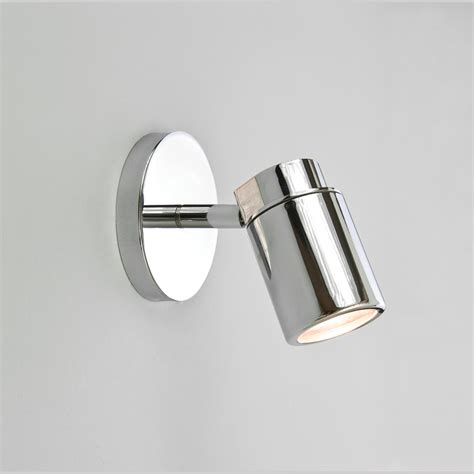 bathroom pot lights astro 6106 como single ceiling spotlight in polished chrome