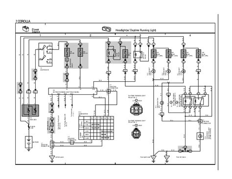 toyota corolla 1996 wiring diagram overall 28 images