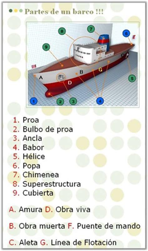 dibujo de un barco y sus partes dejsoft partes de un barco