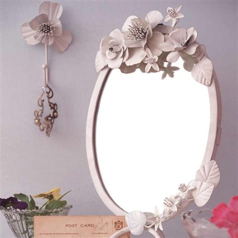 vintage dressing table accessories vintage dressing table mirror with corsage flowers white