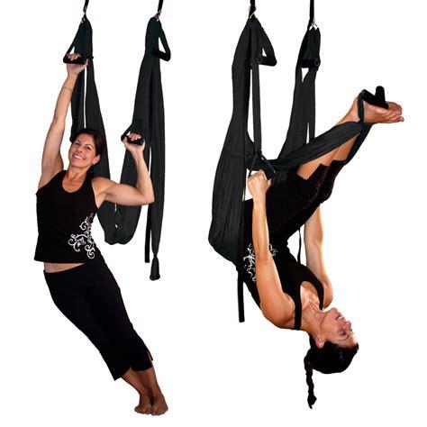 black swing black gravotonics aerial yoga inversion swing st