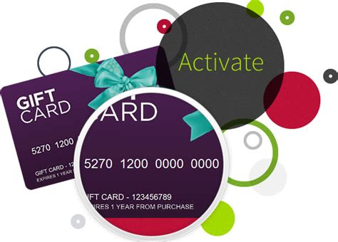 Gift Card Activation App - activate gift vouchers gift cards and gift certificates flex e card perfect gifts
