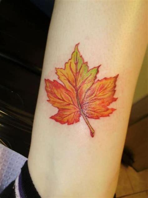 fall tattoo 1000 ideas about fall leaves on leaf