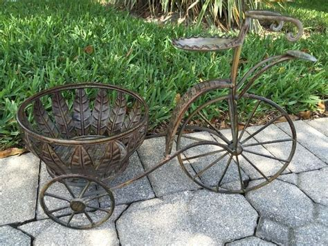 Iron Bicycle Planter by 1000 Images About Planters On Wheels On Bikes