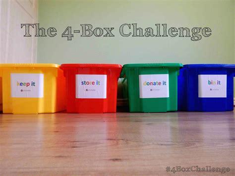 the 4 box challenge bark time