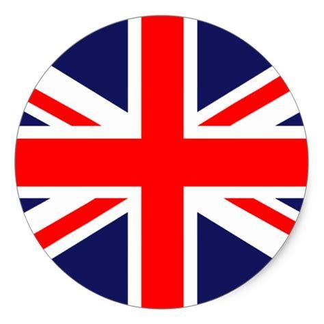 Emblem Bendera Inggris Metal great britain flag stickers zazzle