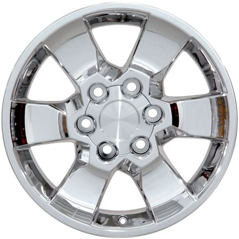 17 Toyota Rims One 17 Quot Fits Toyota 4runner Style Wheel Pvd Chrome 17x7