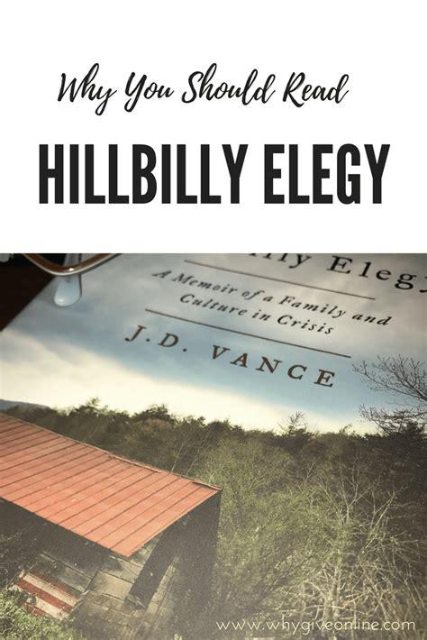 0008220565 hillbilly elegy a memoir why you should read hillbilly elegy a memoir of a family