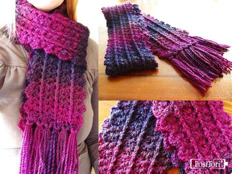 Free Crochet Pattern Zipline Scarf   zip line scarf crochet pinterest
