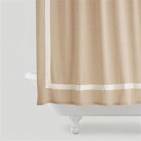 Linen Shower Curtains Sheer White Linen Shower Curtain Curtain Menzilperde Net