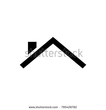 tile roofing icon roofing stock images royalty free images vectors