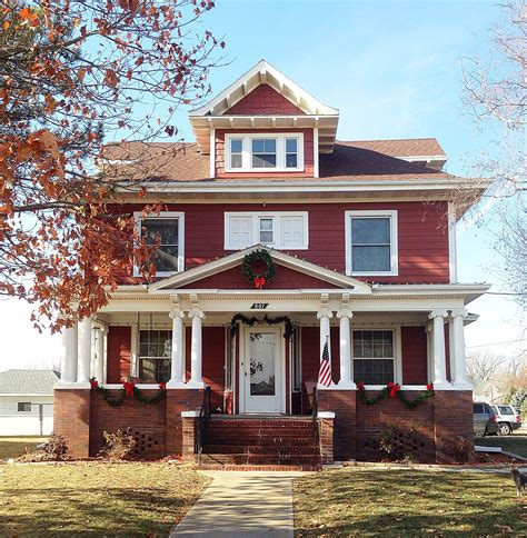 american foursquare craftsman house house foursquare houses craftsman