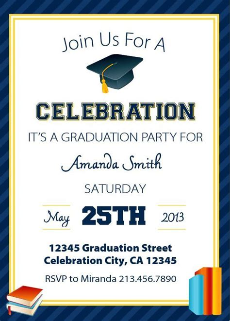 free templates for graduation announcements save money with these free printable graduation