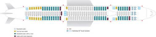 air canada a333 seat map seat selection on our flights air transat