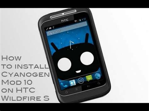 install themes htc wildfire how to install cyanogenmod 10 jelly bean on htc wildfire