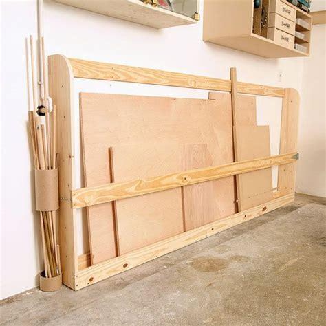 for the workshop material storage on pinterest lumber storage 93 best images about workshop lumber racks on pinterest