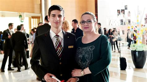 generation emirates flight attendant surprised  proud mother  national