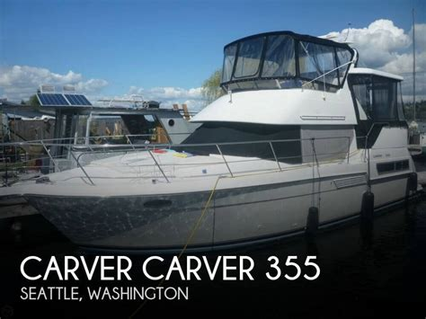 carver boats seattle sold carver carver 355 boat in seattle wa 123261
