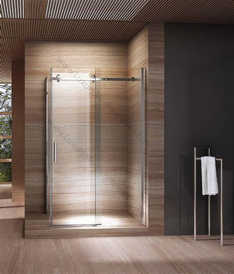 Glass Shower Doors Los Angeles Los Angeles Modern Frameless Glass Shower Sliding Door Right Enclosure Luxury Modern Home