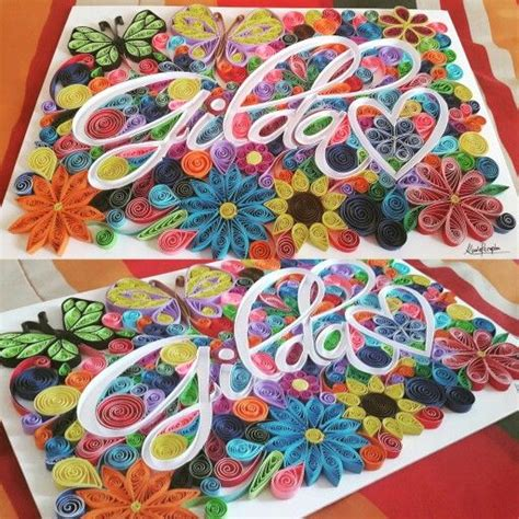 paper quilling names tutorial 1142 best quilling letters images on pinterest