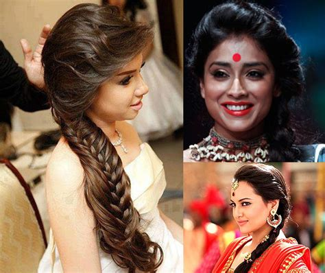 Bridal Hairstyles Side Pony by 10 Indian Bridal Hairstyles For Hair