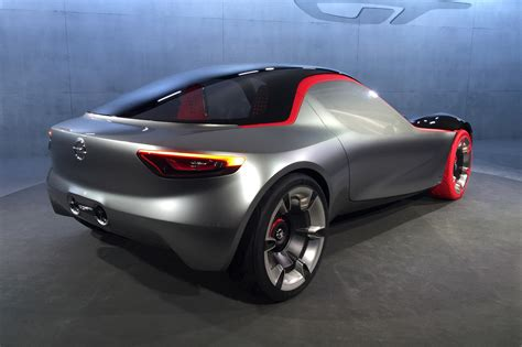 Opel Sports Car by Opel Gt Concept Revealed At Geneva 2016 Vauxhall S Sports