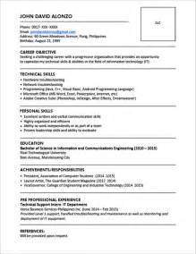 Resume Templates Pics Exles Of Resumes Resume Bad Exle Choose 14 Great Sles In 81 Astounding