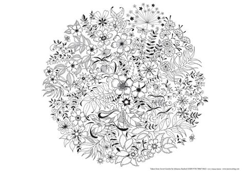 secret garden colouring book pdf free the secret garden colouring page by johanna basford