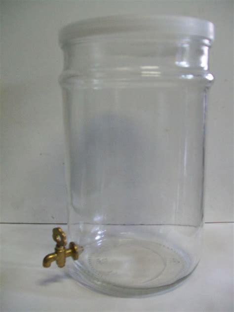 contenitori con rubinetto contenitore vetro 5 litri rub in ottone enotecnica