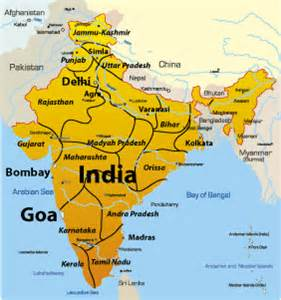 Goa India Map by India Map Goa