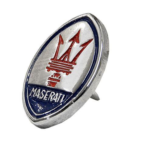 Maserati Badge by Maserati Emblem Pin Badge Italian Auto Parts Gagets