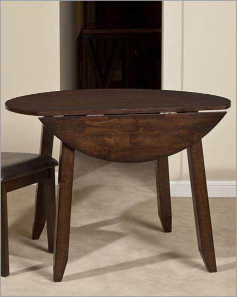 intercon solid mango wood drop leaf dining table kona