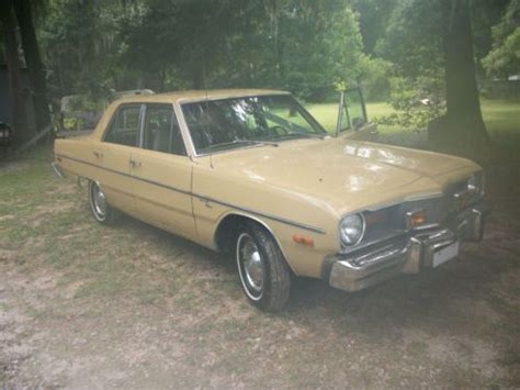 1976 Dodge Dart 4 Door by Buy Used 1976 Dodge Dart Base Sedan 4 Door 3 7l No Reserve