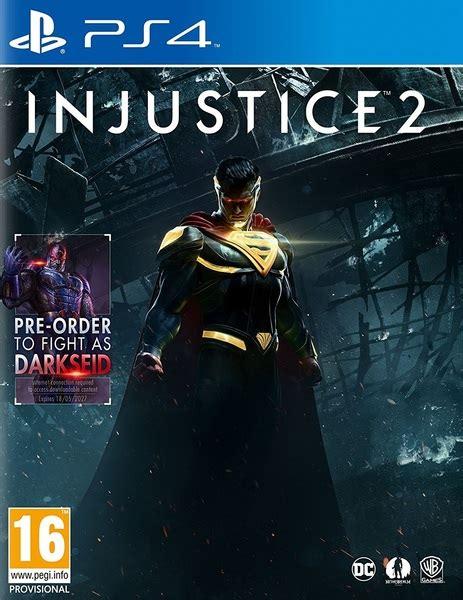 injustice 2 ps4 raru