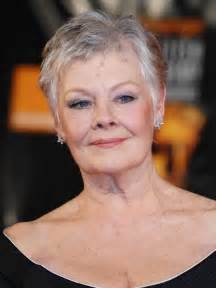 judi dench hairstyle front and back of judy dench hairstyle front and back