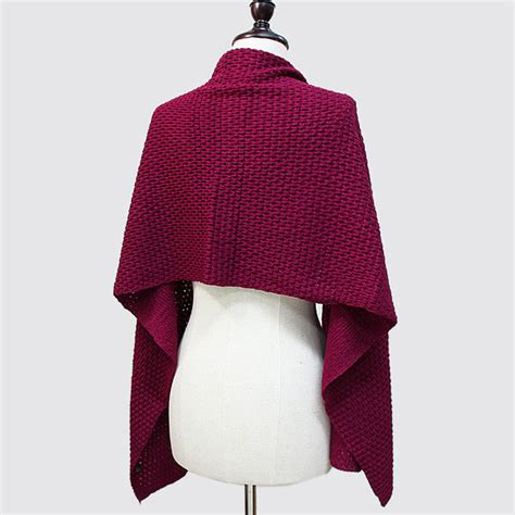 Pashmina Silk Import Ps58277 Burgundy burgundy buttoned up poncho shawl wrap scarf ebay