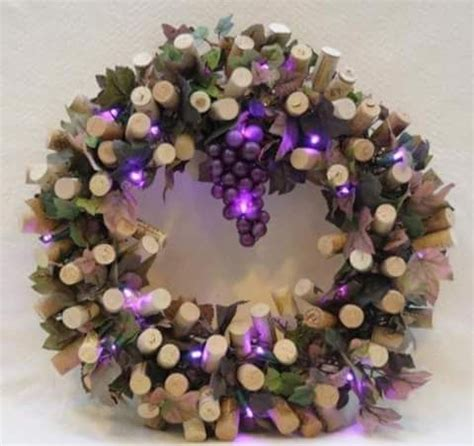 wine cork wreath crafty ideas corks wine cork wreath cork wreath and cork
