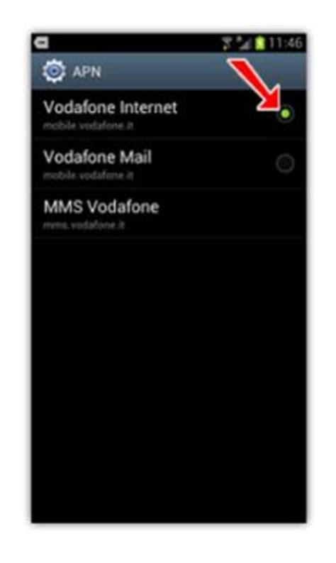 www mobile vodafone it samsung galaxy s3 non si connette a soluzione