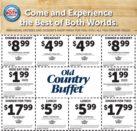 printable restaurant coupons july 2015 old country buffet 3 off coupon july 2015 2017 2018