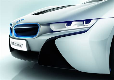 bmw i8 headlights 2014 bmw i8 concept front headlight up eurocar