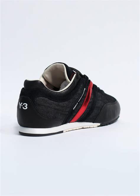 adidas y3 adidas y 3 boxing denim trainers black running white
