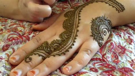 the most popular henna design of summer 2014 tutorial