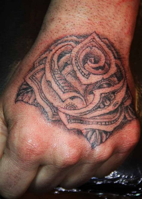 money rose hand tattoodenenasvalencia