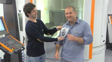 sir jonathan ive receives  coveted gold blue peter badge imore